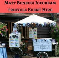 Benecci Ice Cream Tricycle Hire